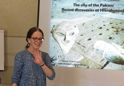2016 LUXOR CONFERENCE RENEE FRIEDMAN Ancient World Tours