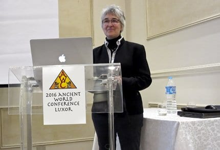 2016 LUXOR CONFERENCE SUSANNE BICKEL Ancient World Tours