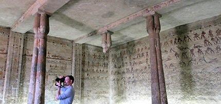 MISSING TOMBS NEWS Chris Naunton Ancient World Tours