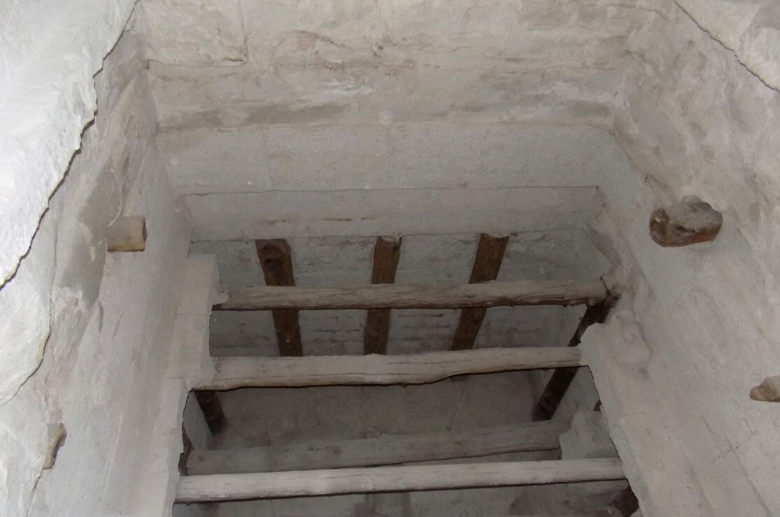 The Bent Pyramid Interior