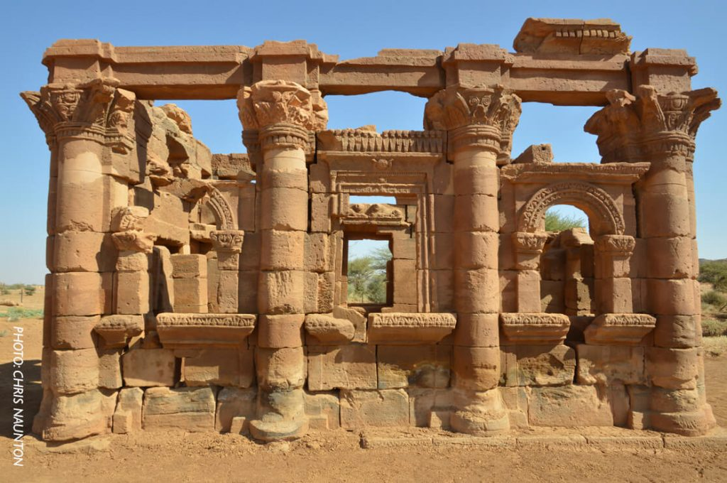 The Kiosk, Naga, Sudan, Ancient World Tours