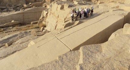 2015 LONG CRUISE UNFINISHED OBELISK Ancient World Tours
