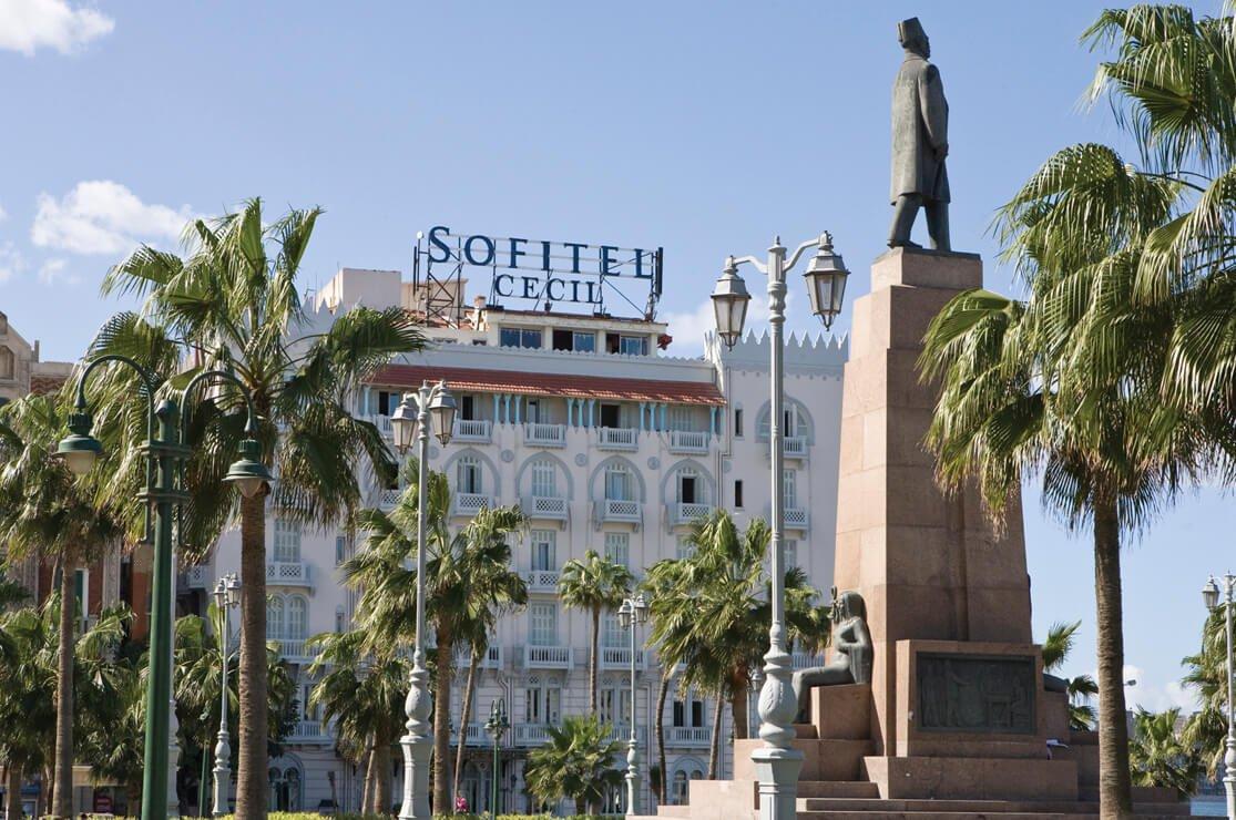 Cecil Hotel, Alexandria