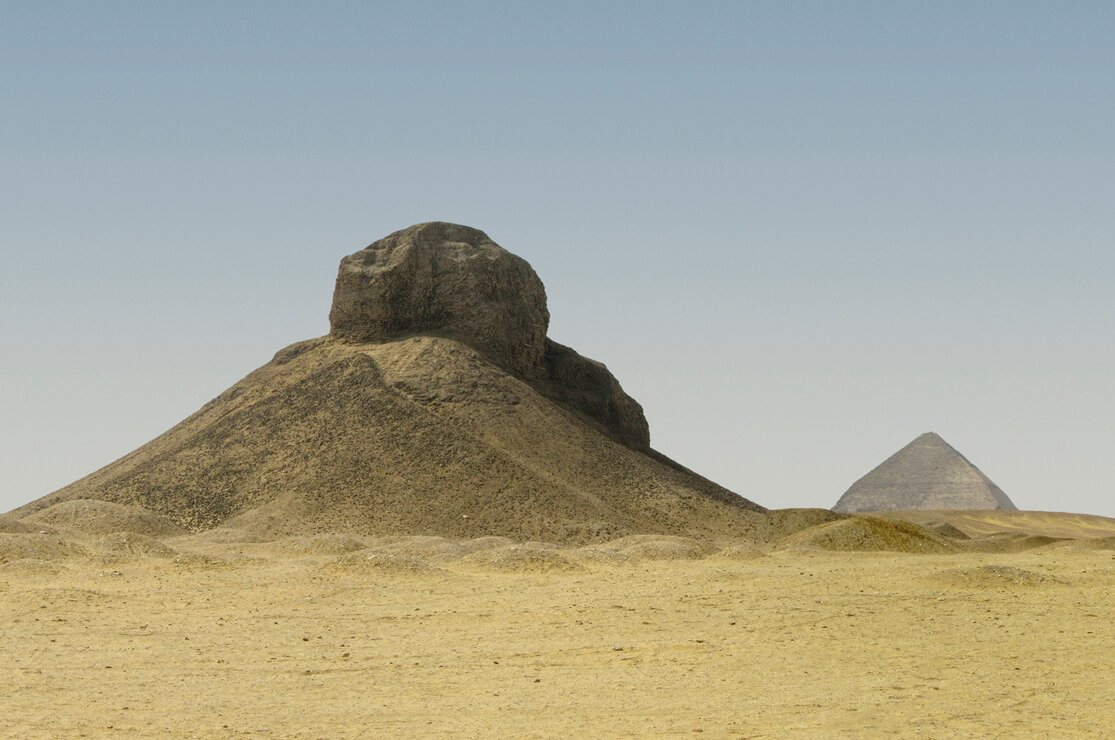 Black and Bent Pyramid