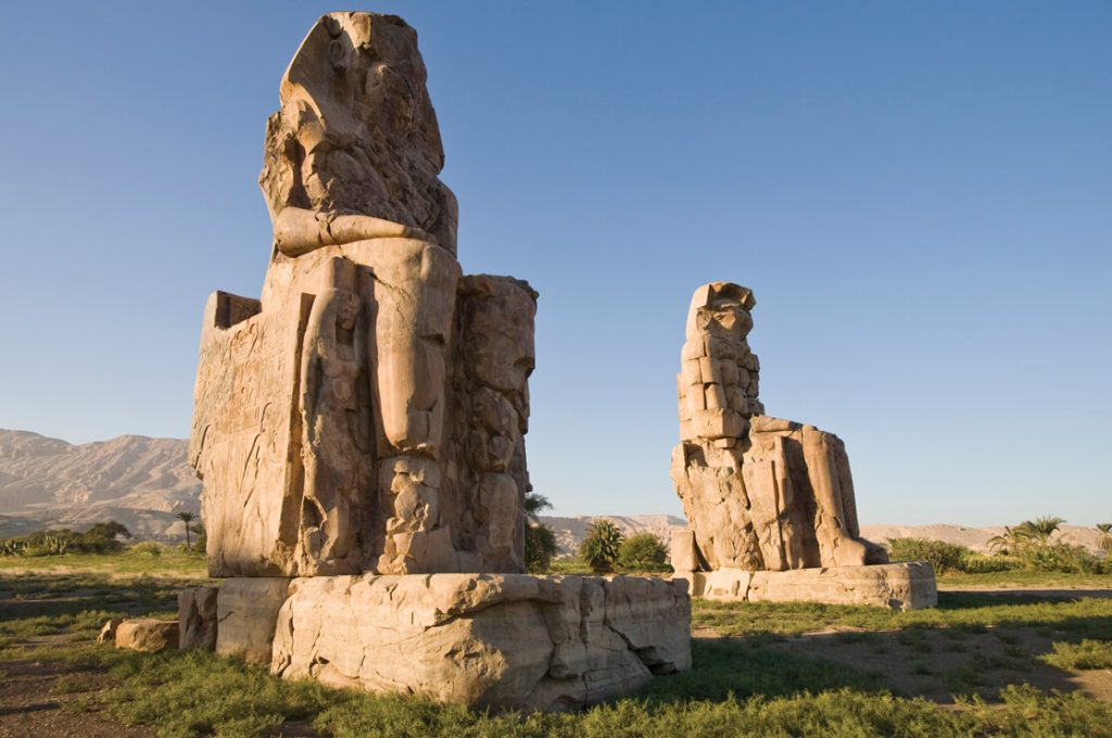 Colossi of Memnon, Egypt, Ancient World Tours