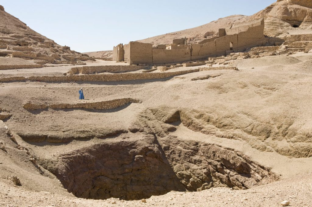 Deir el Medina, Great Pit, Egypt, Ancient World Tours