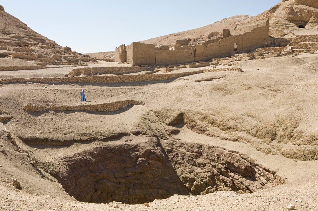 Deir el Medina, Great Pit