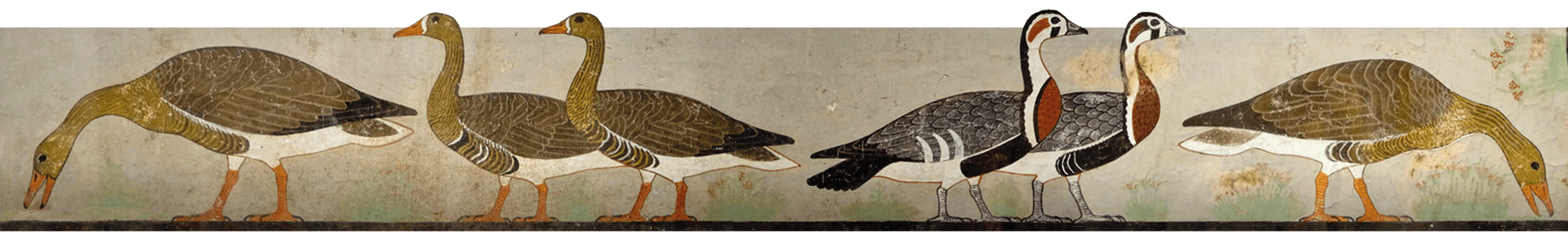 Geese Frieze, Egypt, Ancient World Tours, Options