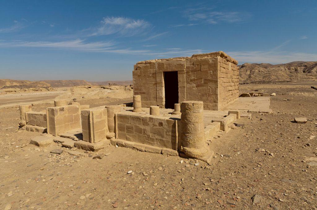 Hathor Temple of Amenhotep III, el Kab, Egypt, Ancient World Tours