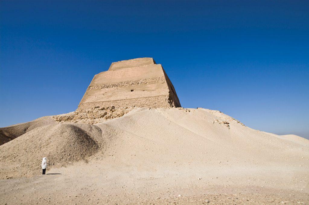 Meidum Pyramid, Egypt, Ancient World Tours