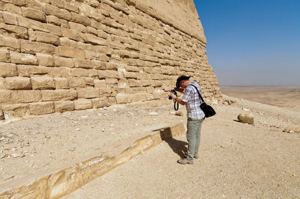 Meidum Pyramid, Egypt, Colin Reader, Ancient World Tours