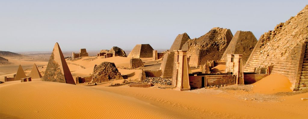 Meroe Sudan Land of Kush Ancient World Tours Selling