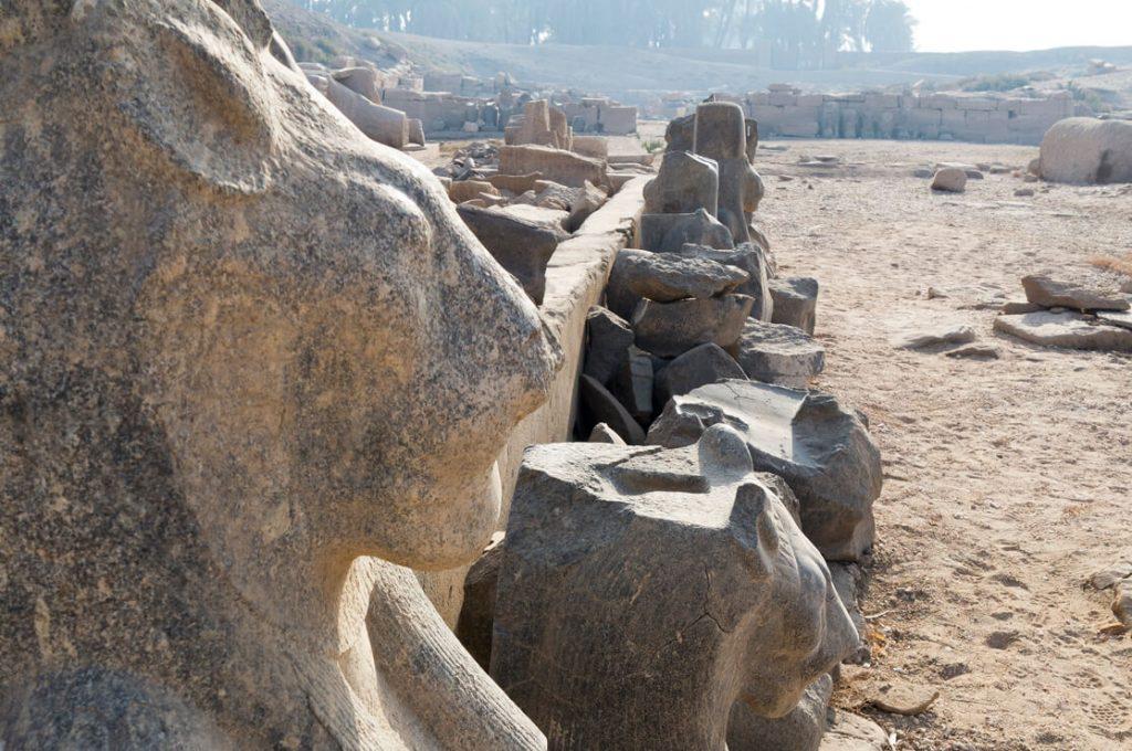Mut Temple, Karnak, Luxor, Egypt, Ancient World Tours