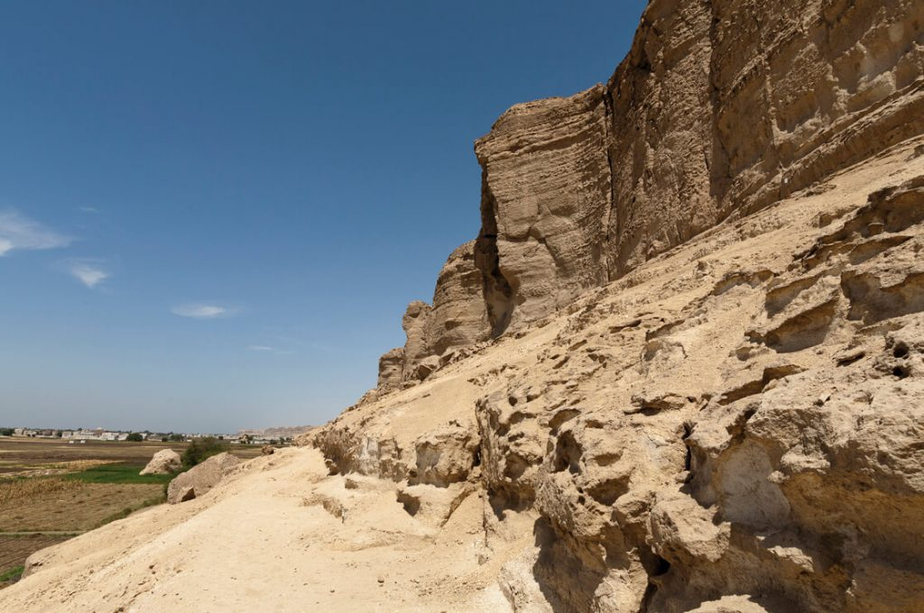 Rock-cut Fraser Tombs, Egypt, Ancient World Tours