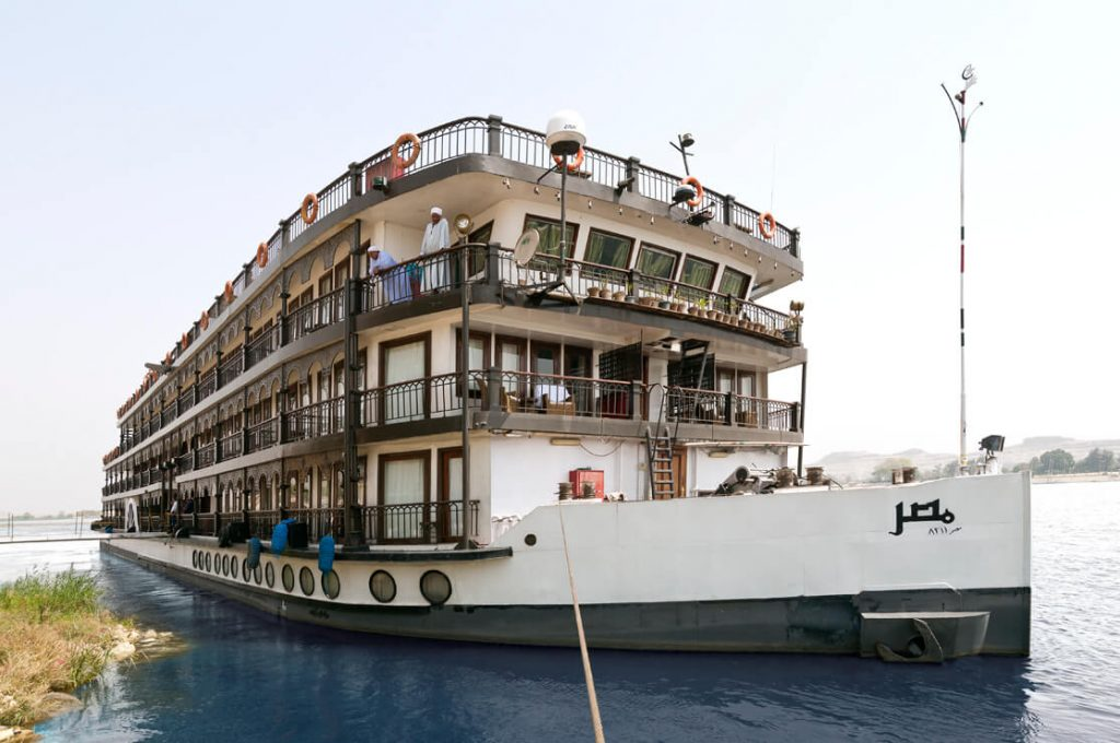 SS Misr, Egypt, Long Cruise, Ancient World Tours, Slide Show