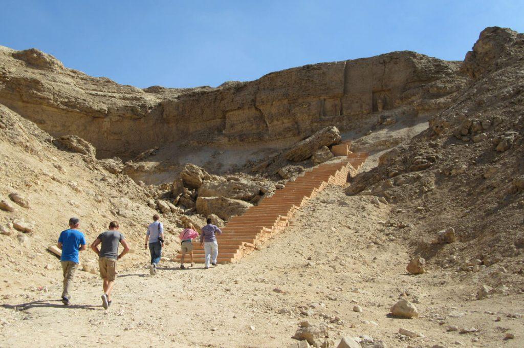 Stela U, Amarna, Egypt, Ancient World Tours