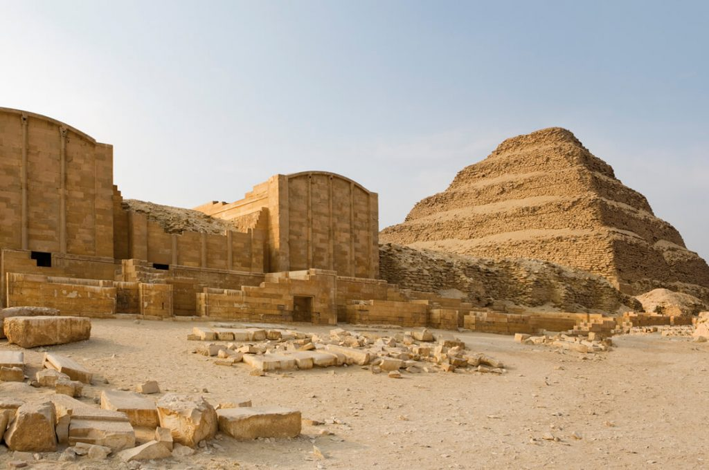 The Step Pyramid, Saqqara, Egypt, Ancient World Tours