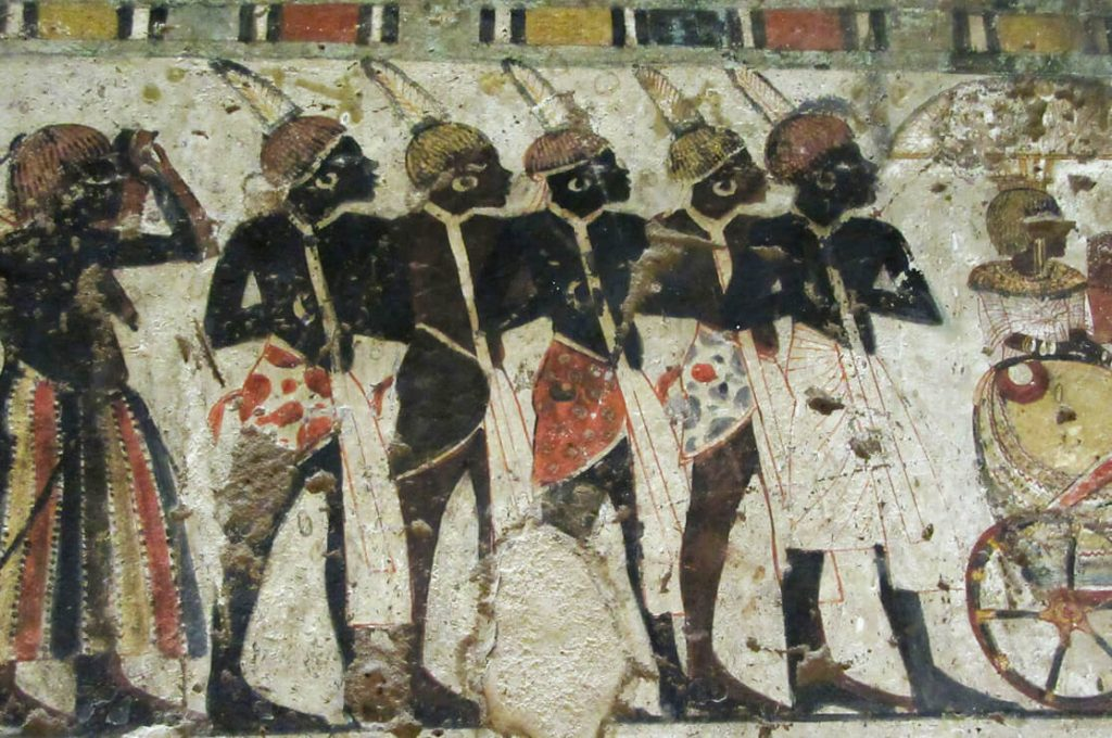 TT40 Amenhotep Huy, Viceroy of Kush, Qurnet Murai Tombs, Ancient World Tours