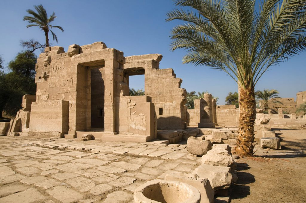 Temple of Montu, el Tod, Egypt, Ancient World Tours