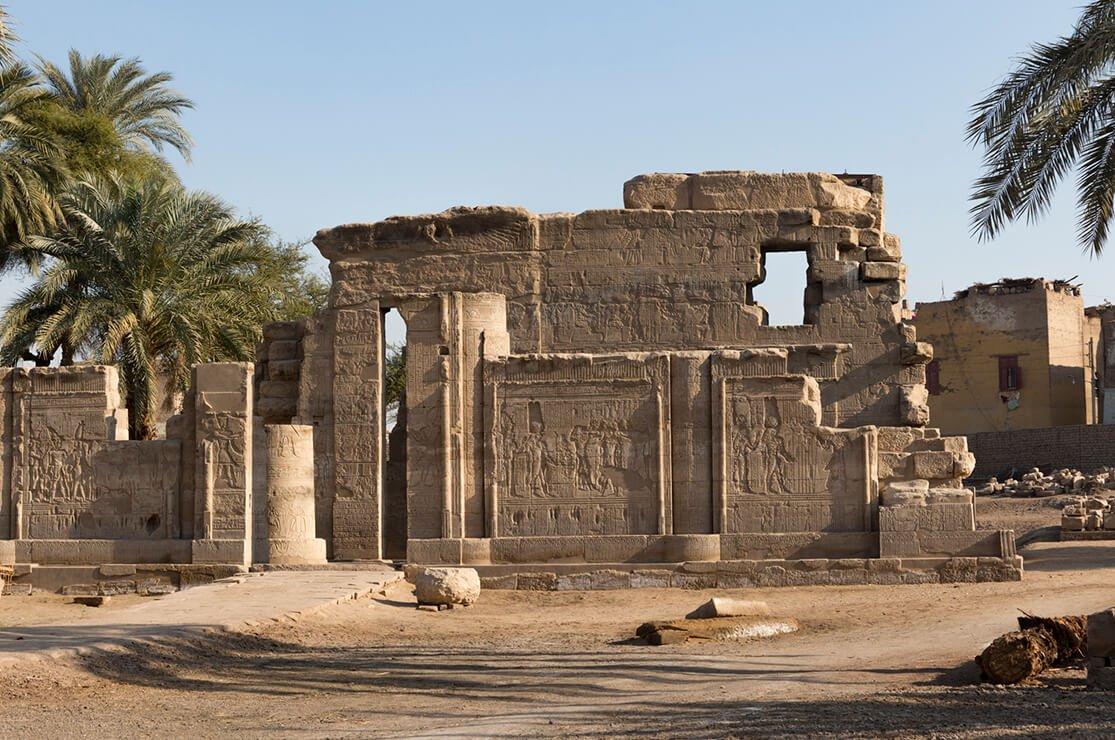 Temple of Montu, el Tod
