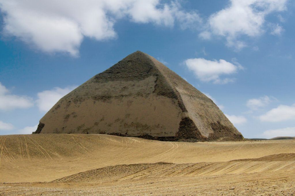 Bent Pyramid, Egypt, Ancient World Tours