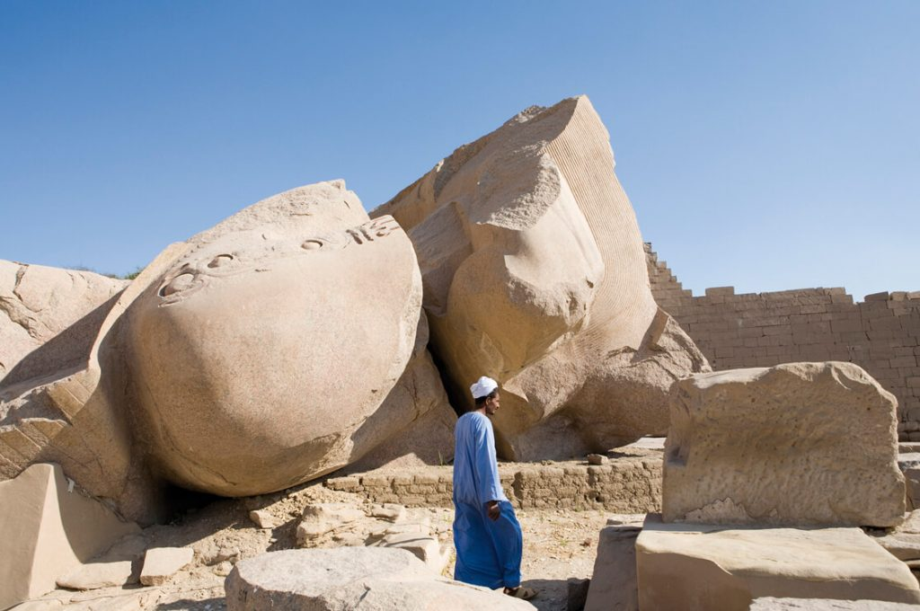 The Ramesseum, Egypt, Ancient World Tours