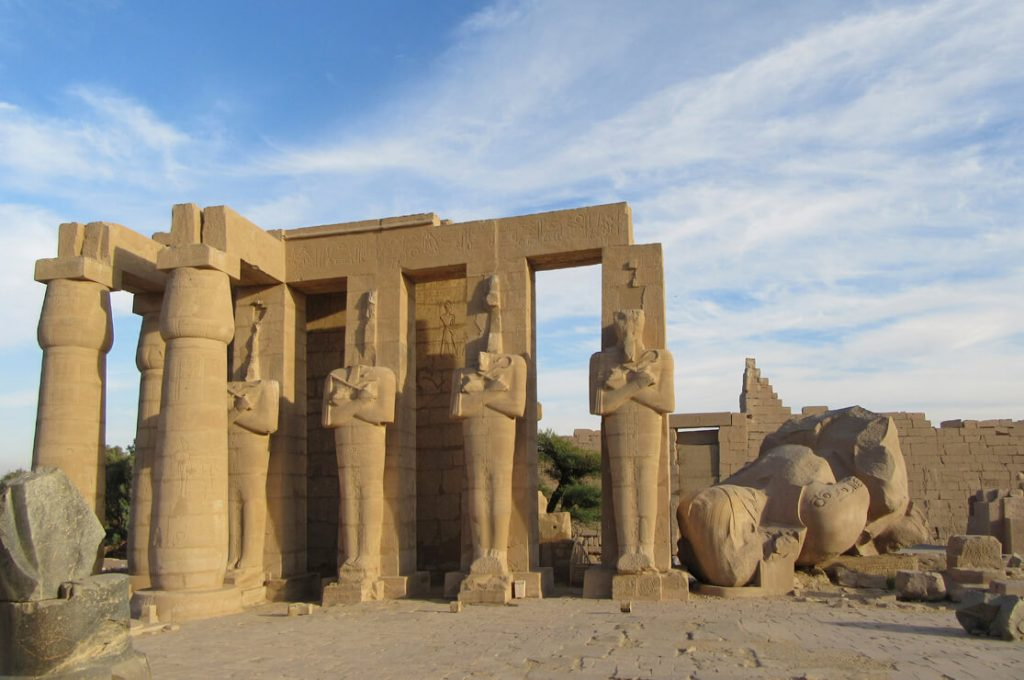 The Ramesseum, Egypt, Ancient World Tours