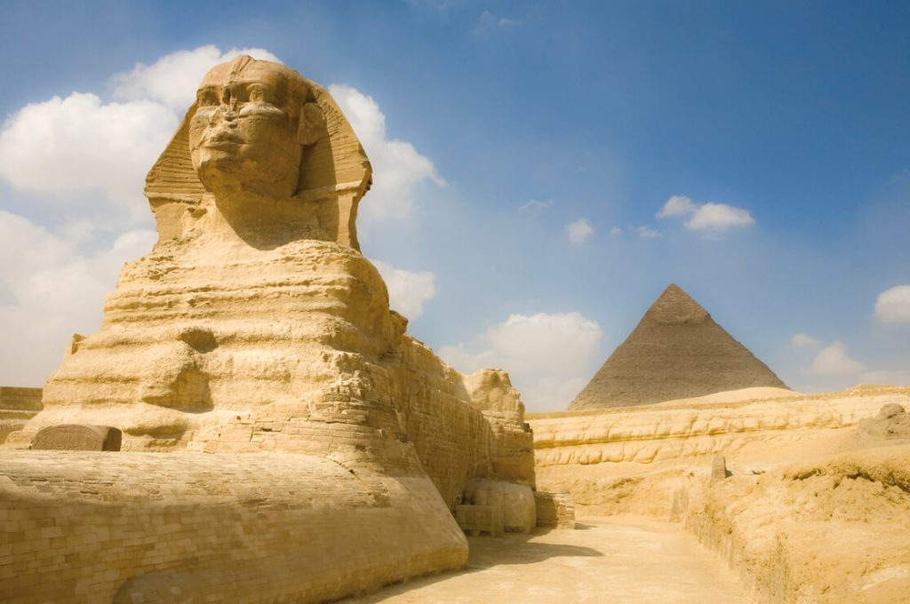 The Sphinx, Ancient World Tours