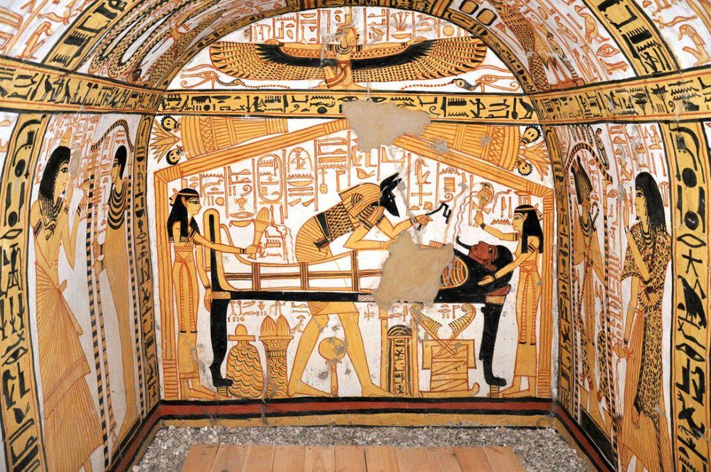Tomb of Nakht Amun, Deir el Medina,Egypt, Ancient World Tours