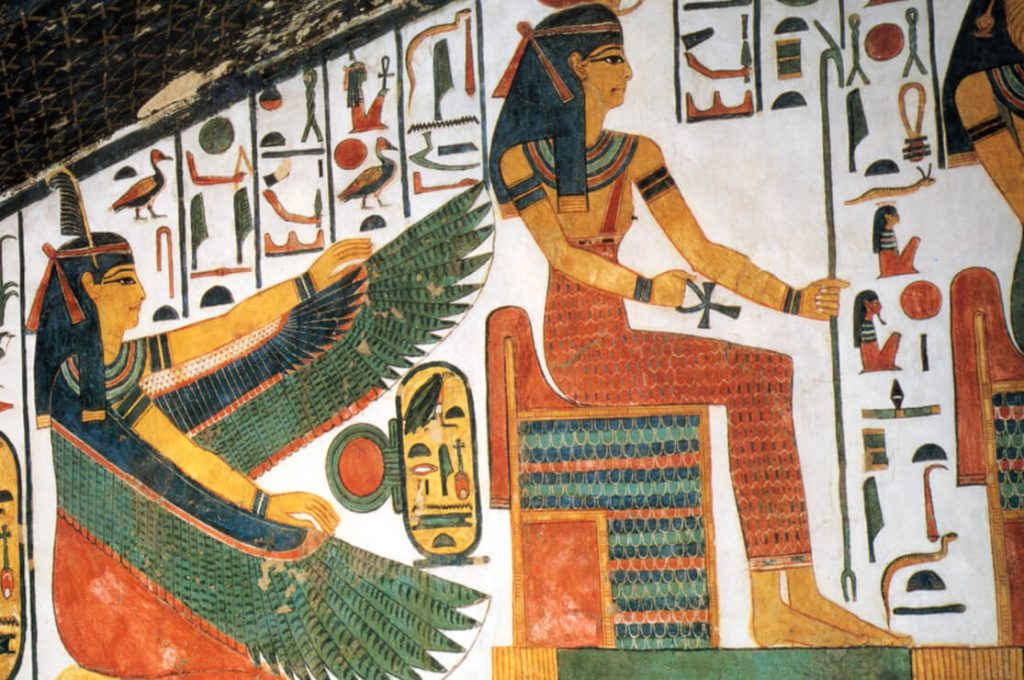 Tomb of Nefertari, Egypt, Ancient World Tours, Slide Show