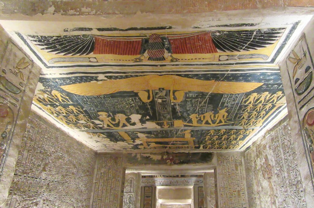 Tomb of Ramesses V & VI (KV9) Kings' Valley, Egypt, Ancient World Tours
