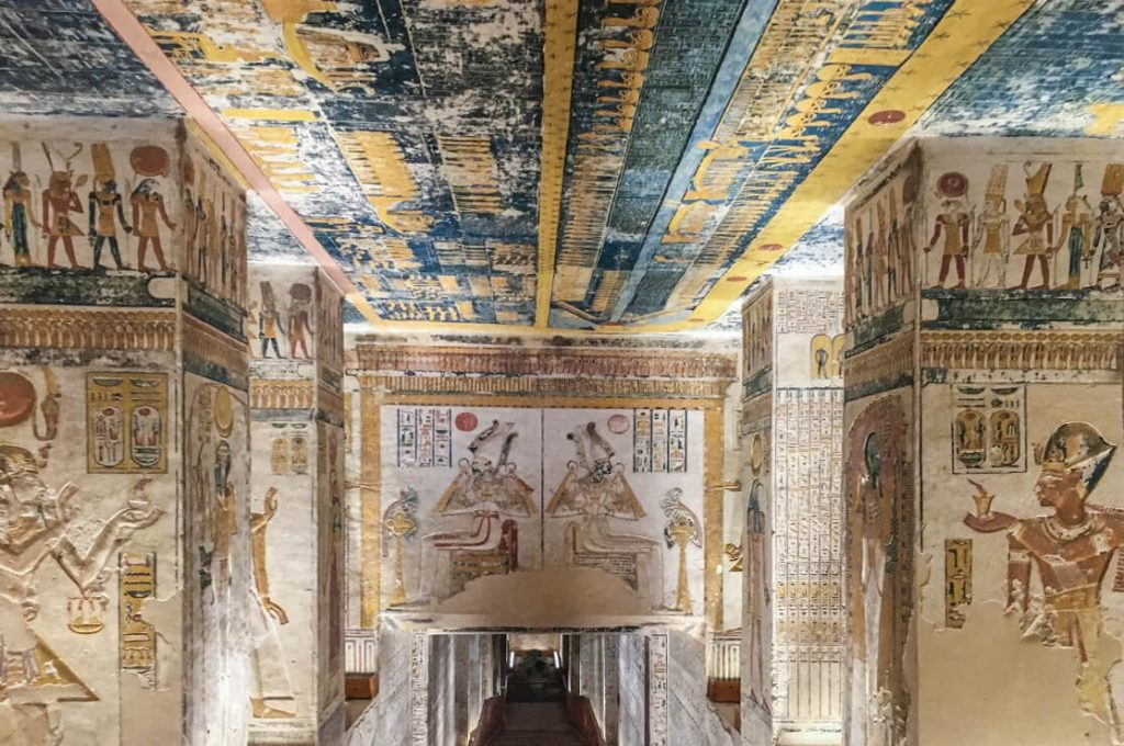 Tomb of Seti I (KV17), Egypt, Ancient World Tours Slide Show
