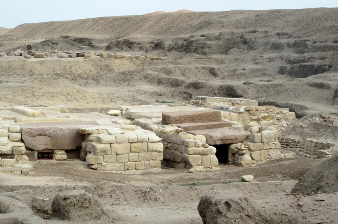 Tombs at Tanis