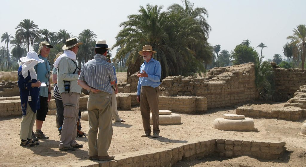 Bark Kemp, Amarna, Ancient World Tours