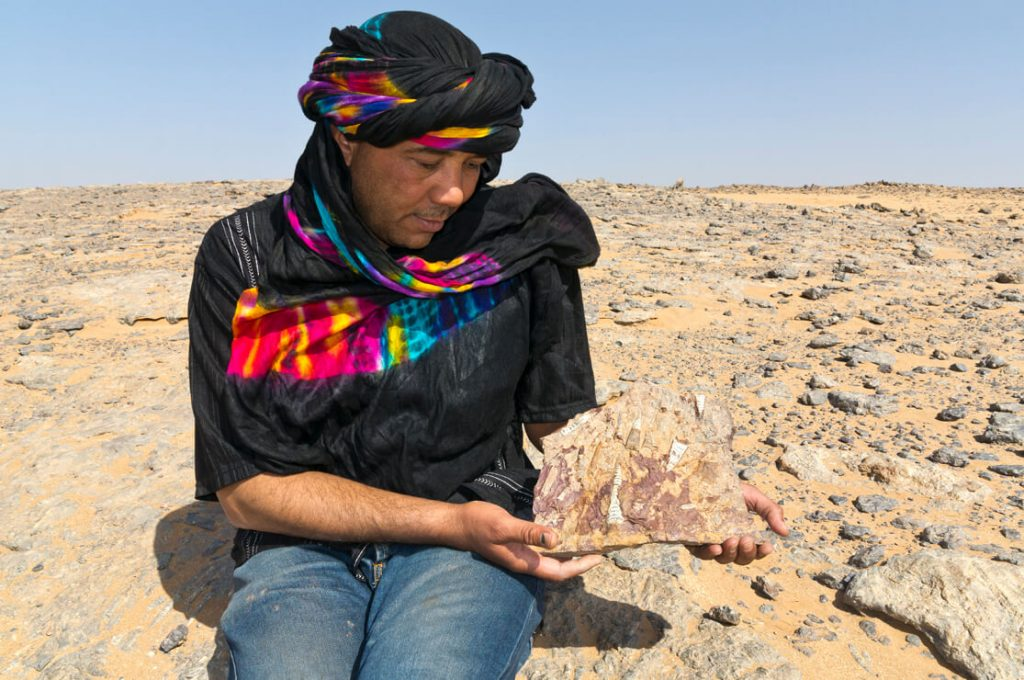 Brahim with Fossils, Morocco, Ancient World Tours