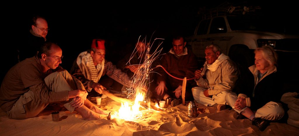 Camp Fire, Desert, Ancient World Tours