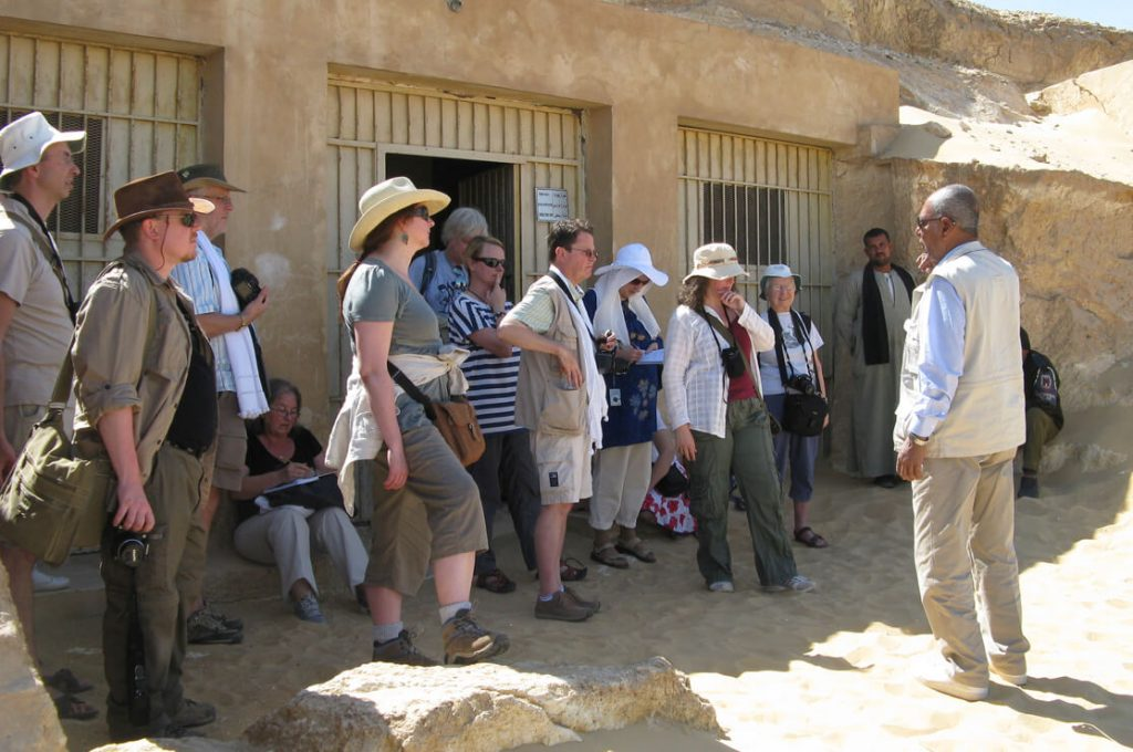 Group and Medhat, Egypt, Ancient World Tours