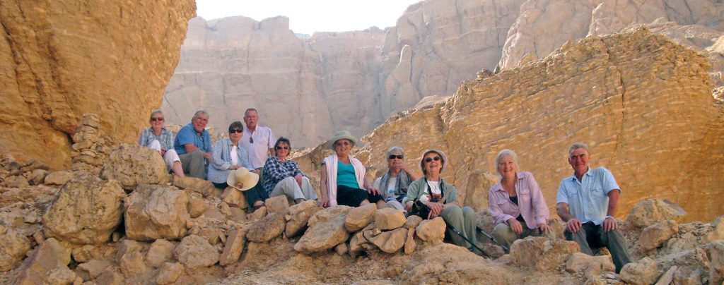Group and Steve Cross, Egypt, Ancient World Tours