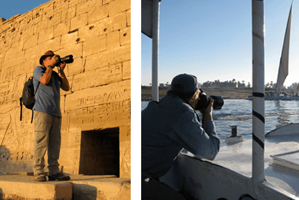 Mike on Photography, Egypt, Ancient World Tours