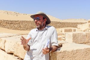 Philippe Collombert, South Saqqara, Egypt, Ancient World Tours