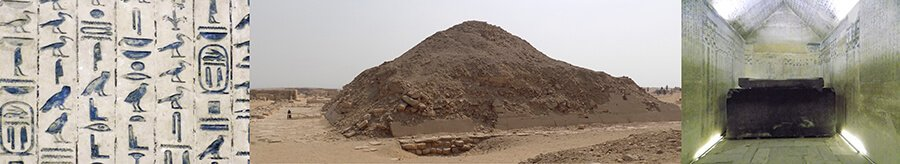 Pyramid Explorer 2016, Ancient World Tours, Unas Pyramid