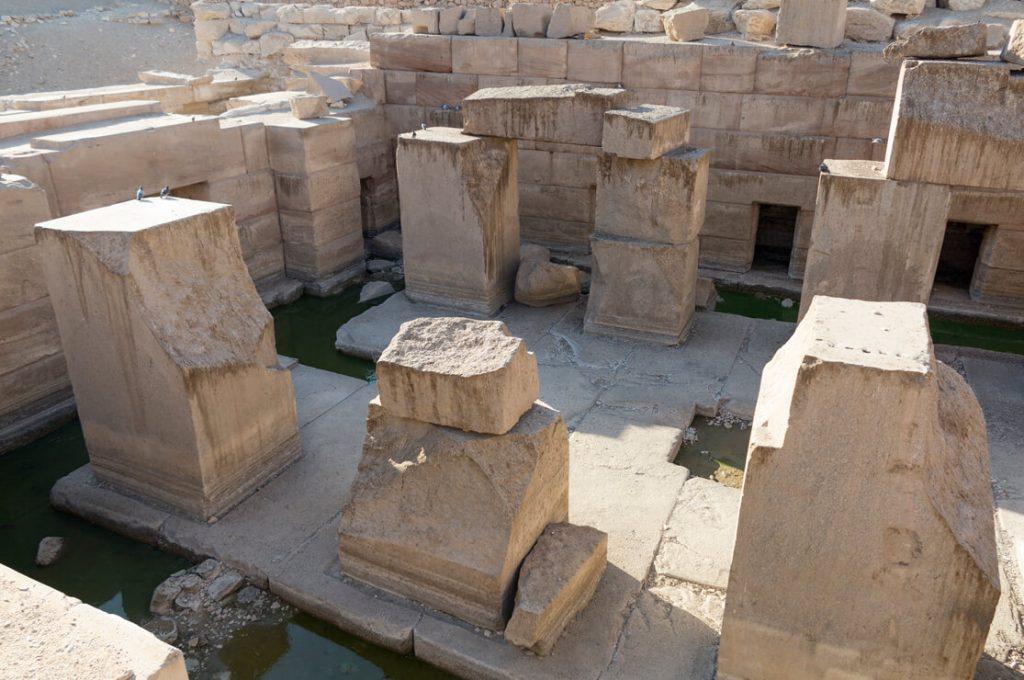The Osireion Abydos Egypt Ancient World Tours