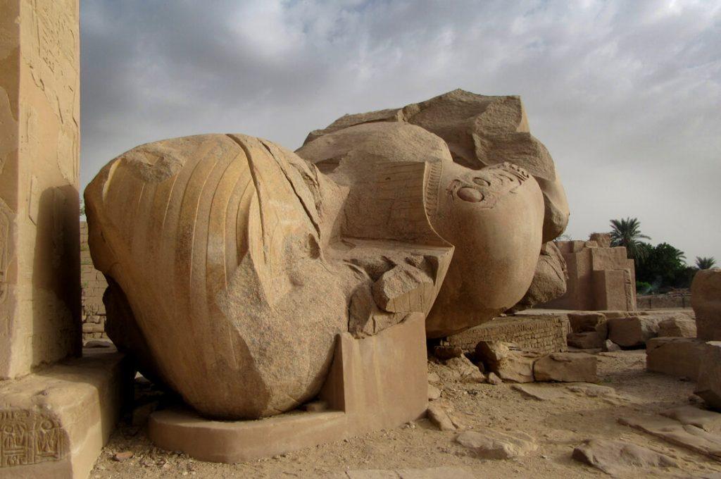 The Ramesseum, Luxor, Egypt, Ancient World Tours