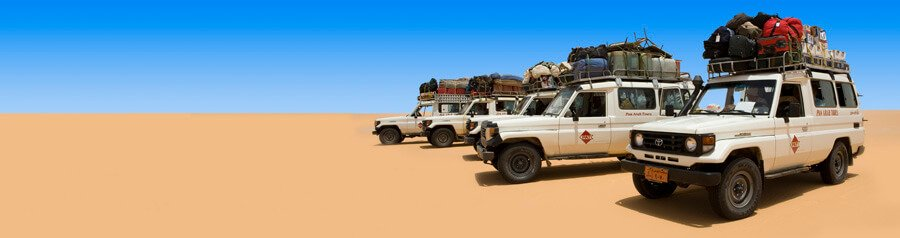 Toyotas, 4WD, Ancient World Tours