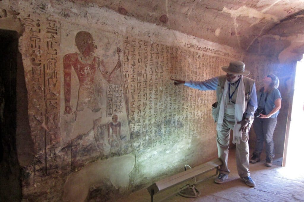 Tomb of Ahmose el Kab, Ancient World Tours
