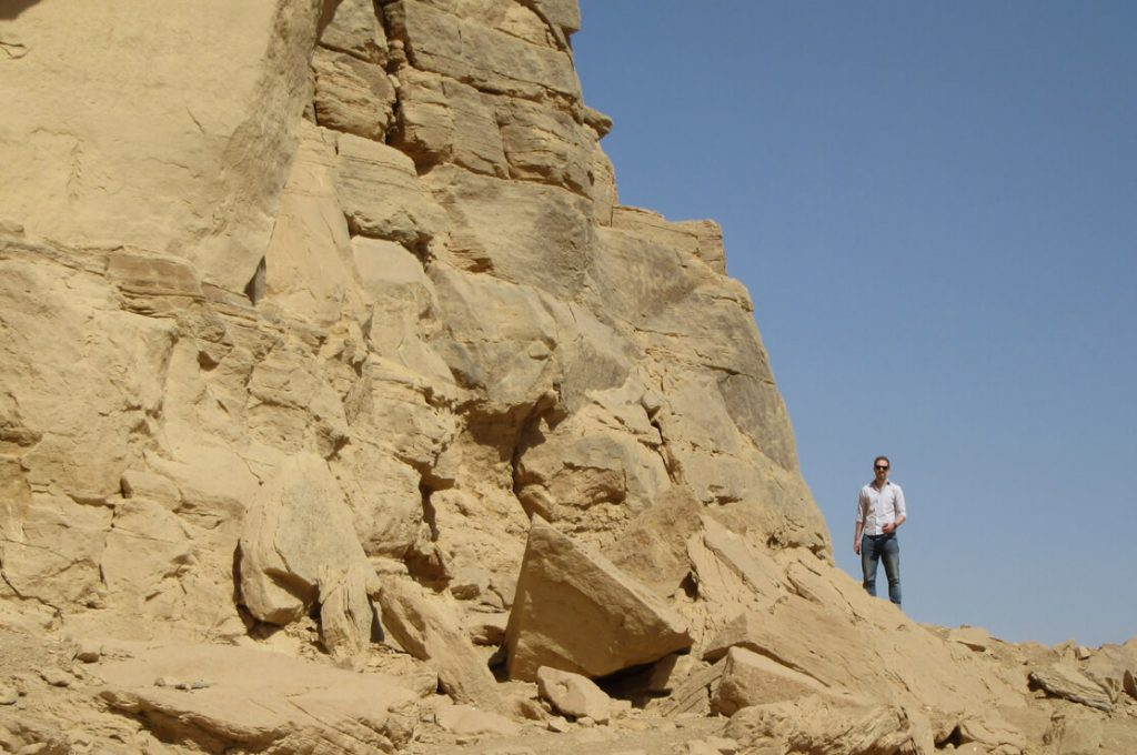Chris Naunton, Vulture Rock, El Kab, Asasif Tour, Luxor, Nile, Ancient World Tours