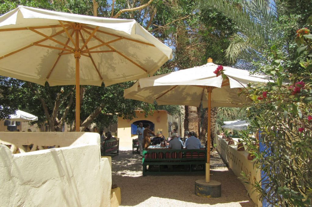 Group Lunch on the West Bank, Asasif Tour, Luxor, Nile, Ancient World Tours