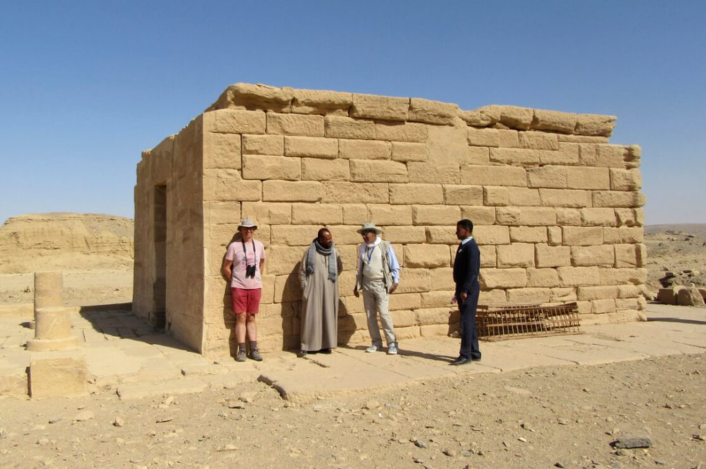 Hathor Temple of Amenhotep III, el Kab, Egypt, Ancient World Tours
