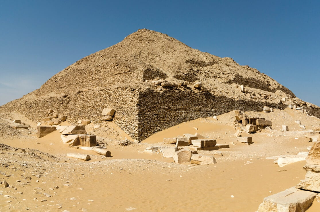 The Pyramid of Pepy II, South Saqqara