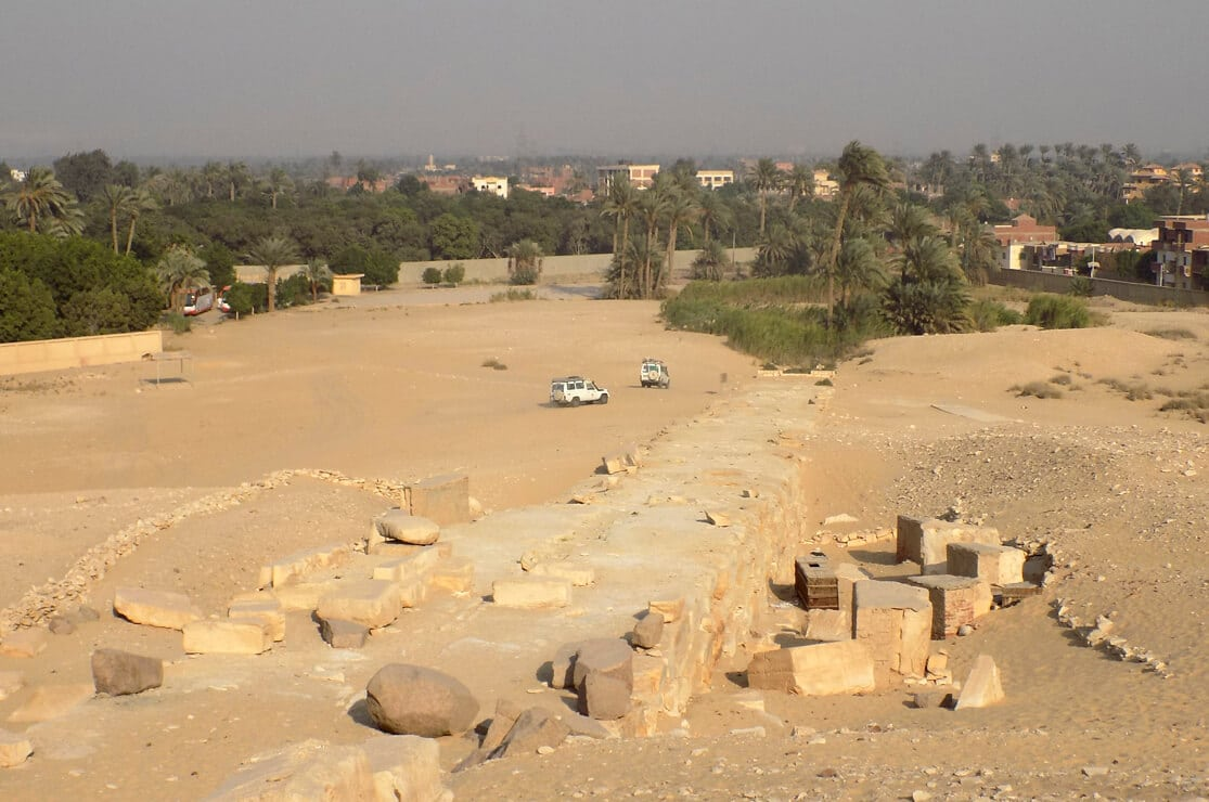 The Causeway of Sahure Pyramid